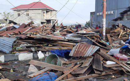 Gempa Dan Sunami di Palu, Sudah 384 Orang Meniggal