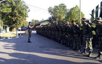 100 Personil Korem 133/Nani Wartabone Dikirim Bantu Gempa Sulteng