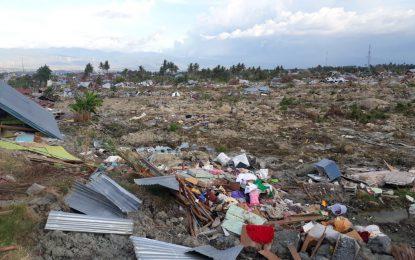 Korban Jiwa Akibat Gempa Dan Tsunami Di Palu Capai 2045 Jiwa
