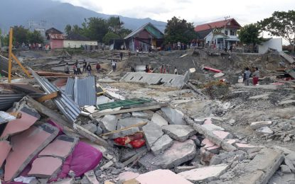 Korban Meninggal Akibat Bencana Alam Di Sulteng Capai 1,948 Jiwa.