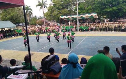 Lomba Tari Kreasi Gorontalo Meriahkan HUT TNI Ke 73