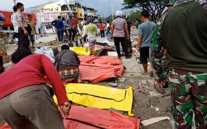 BNPB: Korban Jiwa Akibat Gempa Dan Tsunami 832 Jiwa