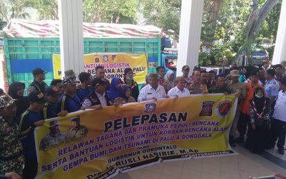 Lagi, Pemprov Gorontalo Berangkatkan Bantuan Ke Palu