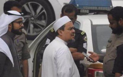 Ini Alasan Rizieq Syihab Diperiksa Polisi Saudi