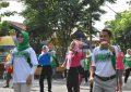 Puncak HUT Kabupaten Gorontalo ke 345 Tingkat Kecamatan Limboto Di Gelar Meriah