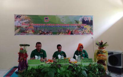 Gelar Rapat Dewan Ketahanan Pangan, KabgorSiap Wujudkan Ketahanan Pangan Nasional